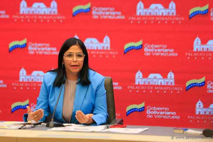 Delcy Rodríguez: Iván Duque fracasó y ya es historia pasada