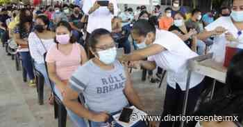 Buena afluencia de vacunados mantienen este sábado en el municipio de Comalcalco - Diario Presente