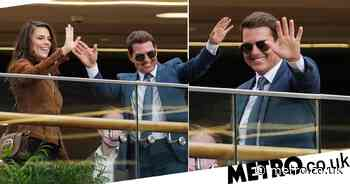 Tom Cruise and Hayley Atwell all smiles as they film Mission: Impossible 7 - Metro.co.uk