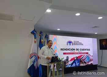Senador de Barahona: Ojalá Abinader termine Monte Grande - Listín Diario