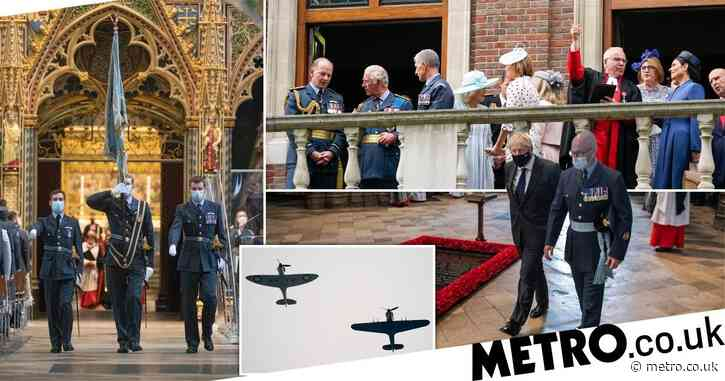 Boris and Charles honour Battle of Britain heroes at 81st anniversary service
