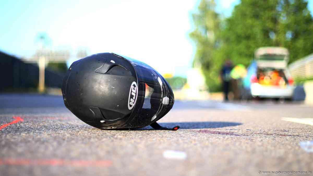 Pähl: Motorradfahrer aus Dießen wird bei Unfall lebensgefährlich verletzt