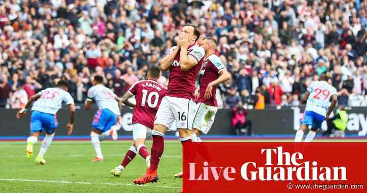 West Ham 1-2 Manchester United: Premier League – as it happened
