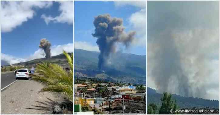 Canarie, sta eruttando il vulcano Cumbre Vieja sull'isola di La Palma, non succedeva dal 1971. Evacuate numerose persone
