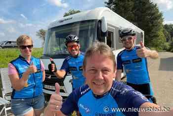 """Swa en Filip bollen van Mont Ventoux naar Bonheiden: """"Volgende uitdaging in de steigers"""""""