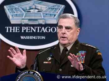 Former Joint Chiefs chairman dismisses conservative criticism of Milley's China call