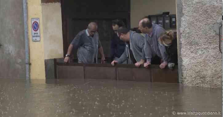 Forti piogge nel varesotto e sull'Alto Milanese, esonda l'Olona a Canegrate: allagamenti e danni anche alle abitazioni