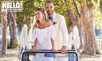 James Middleton and Alizée Thevenet's intimate wedding album revealed - WORLD EXCLUSIVE