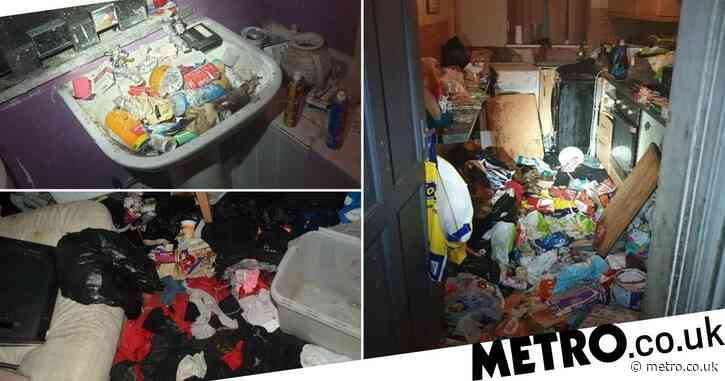 Children found living in filthy 'Victorian slum' full of dog poo and rubbish