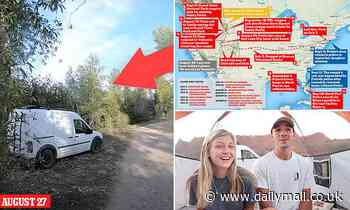Mother Gabby Petito confirms sighting of Gabby's van in Grand Teton days after she was last seen