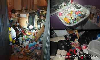 Six children are found living in 'Victorian slum' house as parents admit child cruelty charges