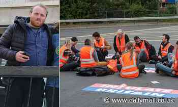 Ringleader of Insulate Britain's M25 eco mob 'lives in house with no cavity wall insulation'