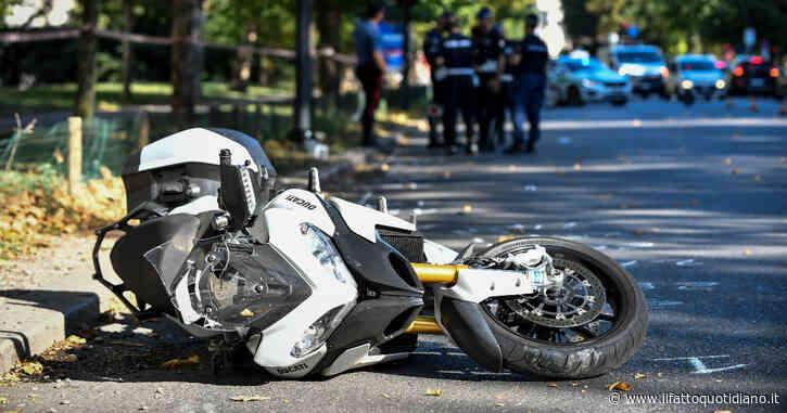 Terracina, frontale tra due moto durante un sorpasso: muoiono in tre, cinque i feriti