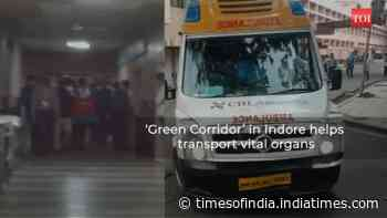 Indore: 'Green Corridor' helps transport organs, brain dead woman gives life to many
