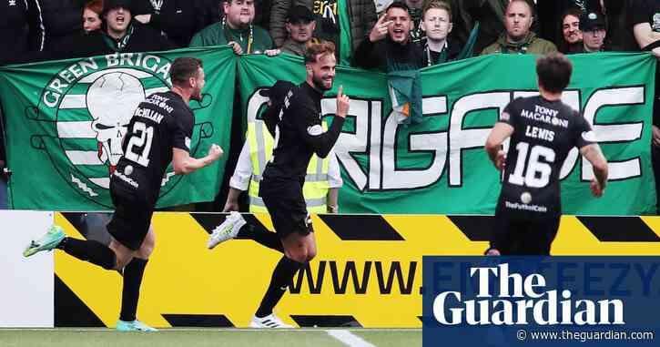Scottish Premiership: Celtic beaten at Livingston, Rangers held by Motherwell