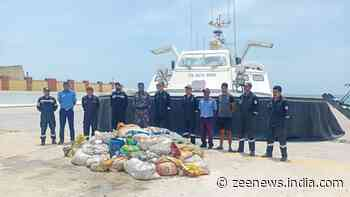 Indian Coast Guard seizes 2 tons of endangered sea cucumber worth Rs 8 crore