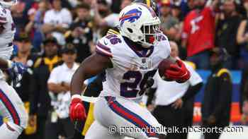 Bills jump out to 7-0 lead on Devin Singletary TD