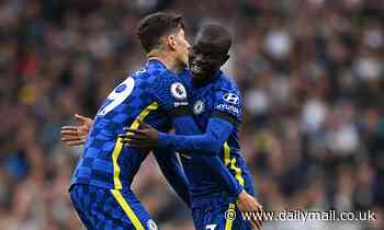 Tottenham 0-3 Chelsea: Blues crush London rivals with statement second-half display