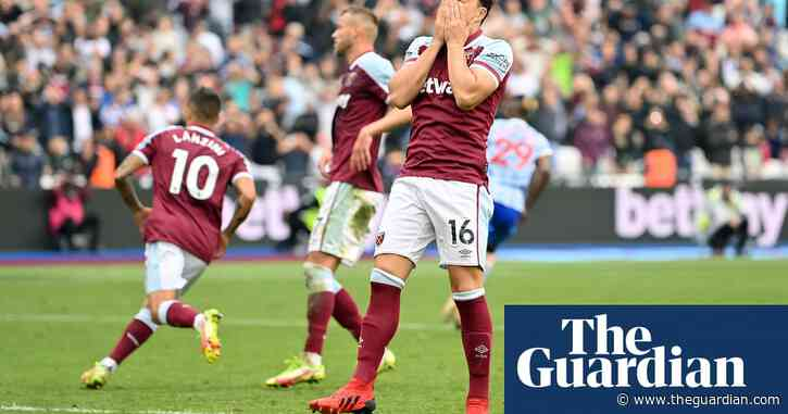 Noble and Moyes share the blame after West Ham throw point away | Jonathan Liew