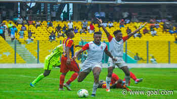 Caf Champions League: Hearts of Oak leave it late to beat Kamsar in Accra