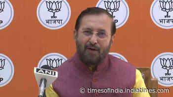 Amarinder Singh called Sidhu anti-national, it's a serious allegation: Prakash Javadekar