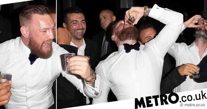 Conor McGregor downs shots at Hollywood party following Machine Gun Kelly MTV VMAs tussle