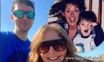 Carol Vorderman is every inch the proud mum as she celebrates her son's graduation