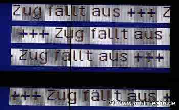 Bahnstrecke zwischen Aschaffenburg und Babenhausen vom 29. Oktober bis 8. November gesperrt - Main-Echo