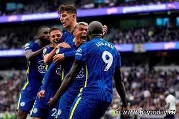 Chelsea blanks Tottenham 3-0 to stay among English Premier League frontrunners