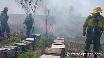 Las provincias de San Luis, Santa Fe y La Rioja, afectadas por incendios - ámbito.com