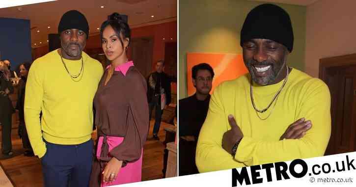 Idris Elba and wife Sabrina reliably stylish for London Fashion Week event