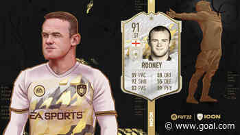 FIFA 22: Rooney announced as newest FUT icon