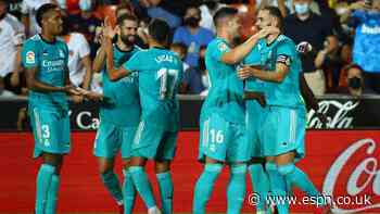 Vinicius, Benzema goals as Real rally for win
