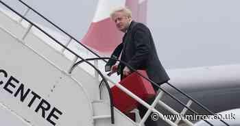 Boris Johnson kicks off US visit - by telling Amazon's Jeff Bezos to pay more UK tax