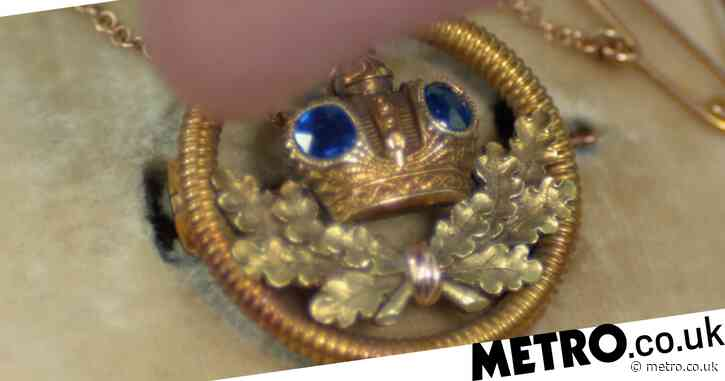 Antiques Roadshow guest floored as tiny brooch with Fabergé connection worth £12,000