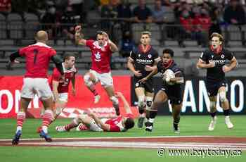 Canadian men's rugby sevens team downs Spain 33-19