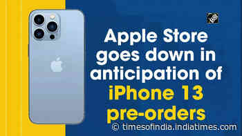 Apple Store goes down in anticipation of iPhone 13 pre-orders