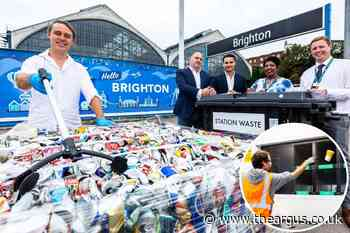 New recycling facility opens at Brighton station