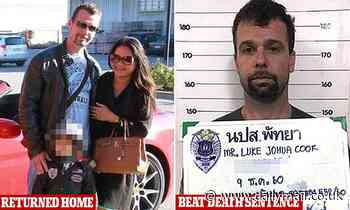 Aussie father who faced death in a Thai jail for smuggling meth returns home after acquittal