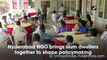 Hyderabad NGO brings slum dwellers together to shape policymaking