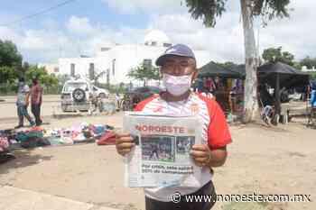 El señor Guadalupe Ríos, celebra el aniversario de Noroeste recordando cuando vendía periódico - Noroeste