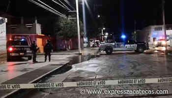 Triple homicidio en Guadalupe, entre ellos un oficial - Express Zacatecas