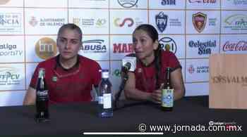Frontenistas Paulina Castillo y Guadalupe Hernández se coronan en la Copa Mundial - La Jornada