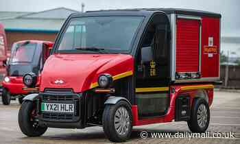 Post Office trials deliveries by two specially designed vehicles in bid for eco-friendlyrounds