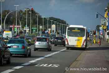 Boomsesteenweg richting Antwerpen in Aartselaar twee nachten... (Aartselaar) - Het Nieuwsblad