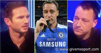 John Terry was defended by Frank Lampard for wearing full Chelsea kit in Munich - GIVEMESPORT