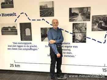 Jef Hermans fotografeert vluchtweg van zijn ouders tijdens Wereldoorlog II
