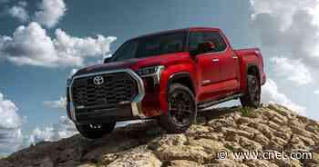 2022 Toyota Tundra versus Chevy Silverado, Ford F-150 and Ram 1500     - Roadshow