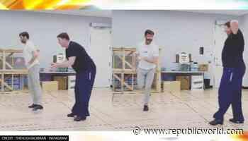 Hugh Jackman shows off tap dancing skills on US' national dance day; watch - Republic World