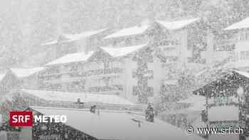 Septemberschnee - Schnee in den Bergen und sehr viel Regen im Tessin - Schweizer Radio und Fernsehen (SRF)